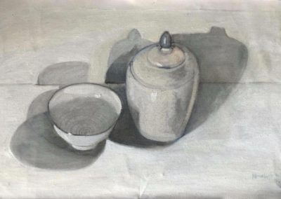 Still Life with Canister